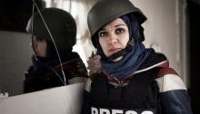Francesca Borri i Syria.
