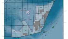 Området sørøst for Færøyene er der oljeselskapene mener at sjansen er størst for å finne olje.