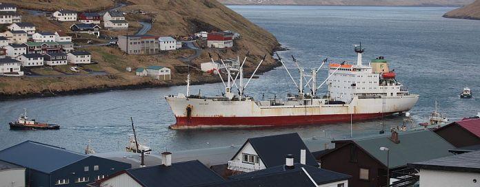 Klaksvík Havn. Foto: Símun á Høvdanum