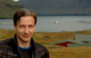 Hans Jákup Mikkelsen, direktør Marine Harvest Faroes. Foto: Jógvan H. Gardar