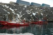 Nuuk Havn. Foto: Jógvan H. Gardar