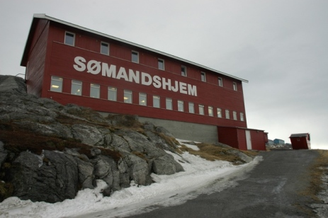 Sømandshjemmet i Nuuk. Foto: Jógvan H. Gardar