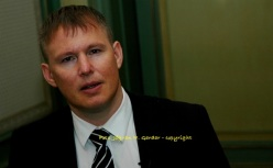 Ivan Vindheim, finansdirektør i Marine Harvest Group. Foto: Jógvan H. Gardar