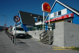 Cafe Crazy Daisy i Nuuk. Foto: Jógvan H. Gardar